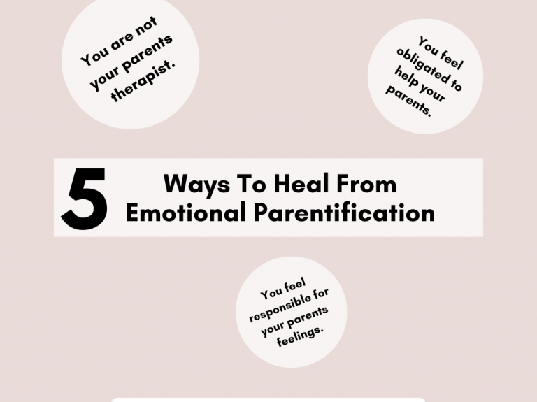 5 Ridiculously Simple Ways To Heal From Emotional Parentification